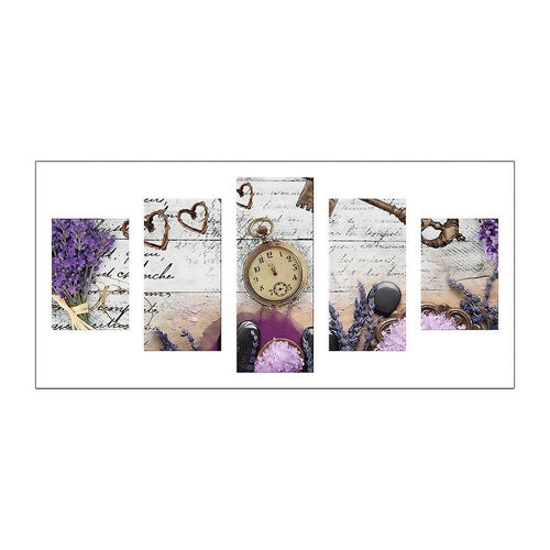 Clock Multi-panel Painting-5D DIY DIY Diamond Painting