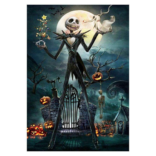 5D DIY Full Drill Diamond Painting Halloween Devil