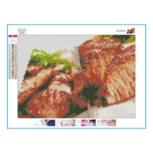 Delicious Food 5D DIY Full Drill Diamond Painting