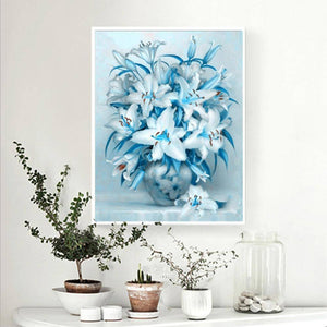 Lily Flower Kit Full Drill Paintings