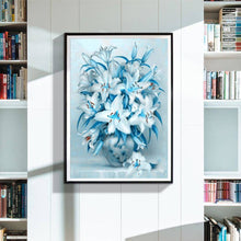 Load image into Gallery viewer, Lily Flower Kit Full Drill Paintings
