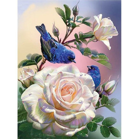 Flower and Bird 5D DIY Full Drill Square Diamond Painting