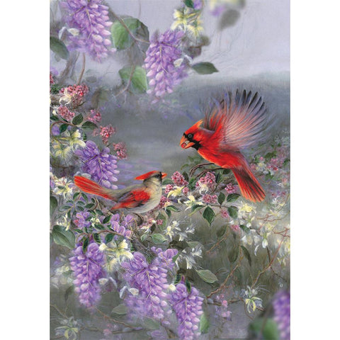 Flower Bird 5D DIY Full Drill Diamond Painting Kit
