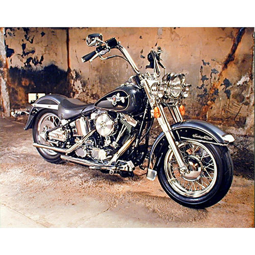 5D DIY Full Drill Square Diamond Painting Motorcycle Mosaic