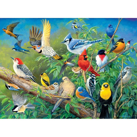 5D DIY Full Drill Diamond Painting Magpie Mosaic
