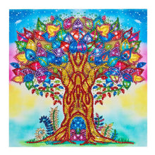 Load image into Gallery viewer, Colorful Tree - Special Shaped Diamond - 30x30cm