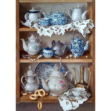 Load image into Gallery viewer, Tea Set - Full Round Diamond - 40x30cm