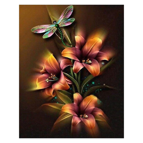 Blooming Flowers 5D DIY Full Drill Diamond Painting