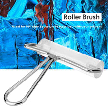 Load image into Gallery viewer, Rubber Roller Brush Brushing Drawing Tools