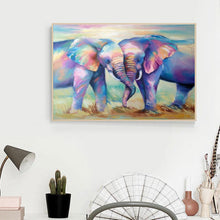 Load image into Gallery viewer, Elephant 5D DIY Full Drill Diamond Painting