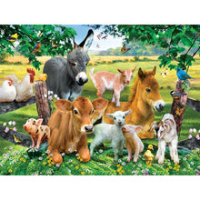Load image into Gallery viewer, Animals  - Full Round Diamond - 40x30cm