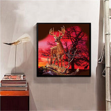 Load image into Gallery viewer, Deer - Full Round Diamond - 30x30cm