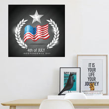 Load image into Gallery viewer, Independence Day  - Full Round Diamond - 30x30cm