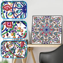 Load image into Gallery viewer, Mandala - Special Shaped Diamond - 30x30cm