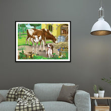 Load image into Gallery viewer, Animals  - Full Square Diamond - 40x30cm