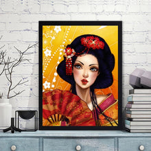 Load image into Gallery viewer, Geisha  - Full Round Diamond - 30x40cm