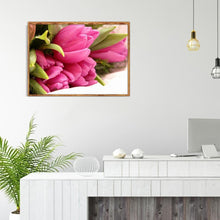 Load image into Gallery viewer, Flower - Full Round Diamond - 40x30cm