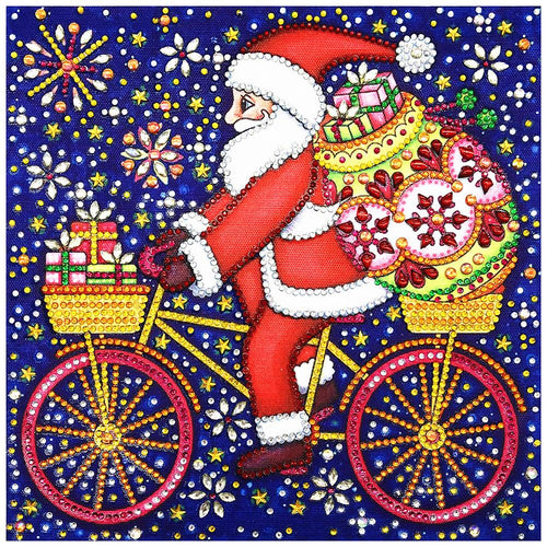 5D DIY Special Shaped Diamond Painting Santa Claus Cross Stitch Mosaic Kits