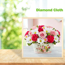 Load image into Gallery viewer, Flowers  - Full Round Diamond - 30x30cm