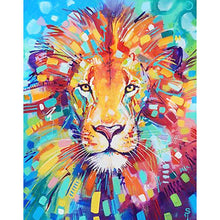 Load image into Gallery viewer, Lion - Full Round Diamond - 30x40cm