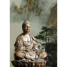 Load image into Gallery viewer, Buddha Statue  - Full Round Diamond - 30x40cm