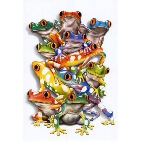 Frog 5D DIY Full Drill Diamond Painting