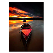 Load image into Gallery viewer, Boat 5D DIY Full Drill Diamond Painting