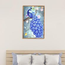 Load image into Gallery viewer, Peafowl 5D DIY Full Drill Diamond Painting