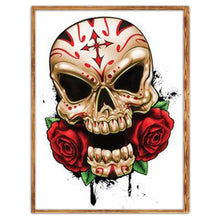 Load image into Gallery viewer, Skull 5D DIY Full Drill Diamond Painting
