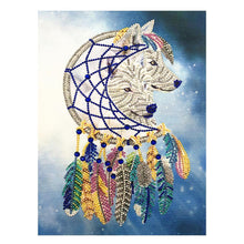 Load image into Gallery viewer, Wolf - Special Shaped Diamond - 30x40cm