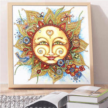 Load image into Gallery viewer, Sun - Special Shaped Diamond - 30x30cm