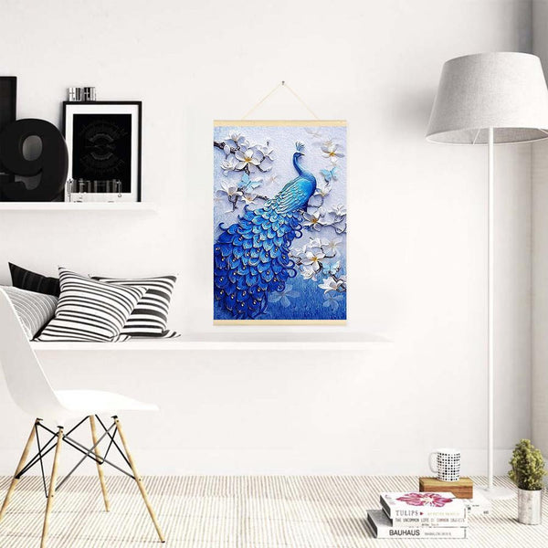 Peafowl Full Drill 5D DIYHanging Diamond Painting