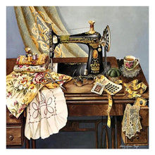Load image into Gallery viewer, Sewing Machine  - Full Round Diamond - 30x30cm