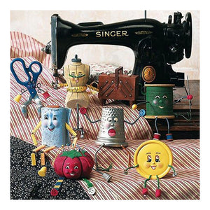 Sewing Machine  - Full Round Diamond - 30x30cm
