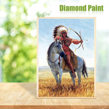 Load image into Gallery viewer, Indian  - Full Round Diamond - 30x40cm