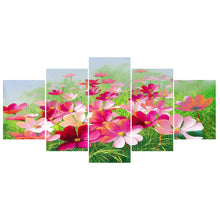 Load image into Gallery viewer, 5pcs Flower - Full Round Diamond - 95x45cm