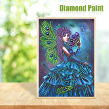 Load image into Gallery viewer, Girl - Special Shaped Diamond - 30x40cm