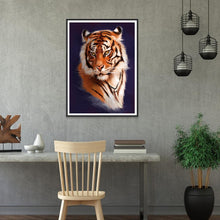 Load image into Gallery viewer, Tiger  - Full Round Diamond - 30x40cm