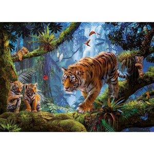 Tiger Full Drill 5D DIY Diamond Painting