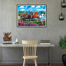 Load image into Gallery viewer, Horse  - Full Round Diamond - 40x30cm
