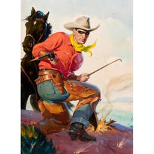 Load image into Gallery viewer, Cowboy  - Full Round Diamond - 30x40cm