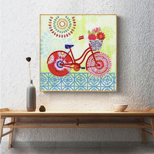 Load image into Gallery viewer, Bicycle - Special Shaped Diamond - 30x30cm