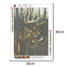 Load image into Gallery viewer, Deer Nature  - Full Round Diamond - 40x30cm