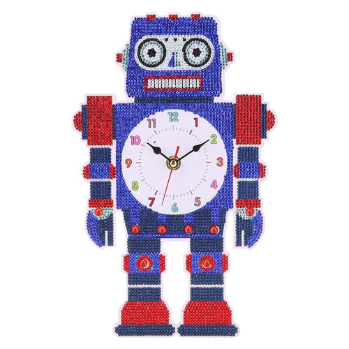 Robot Clock Baby Room