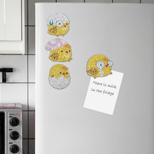 Load image into Gallery viewer, 4pcs Chicken Fridge Magnet