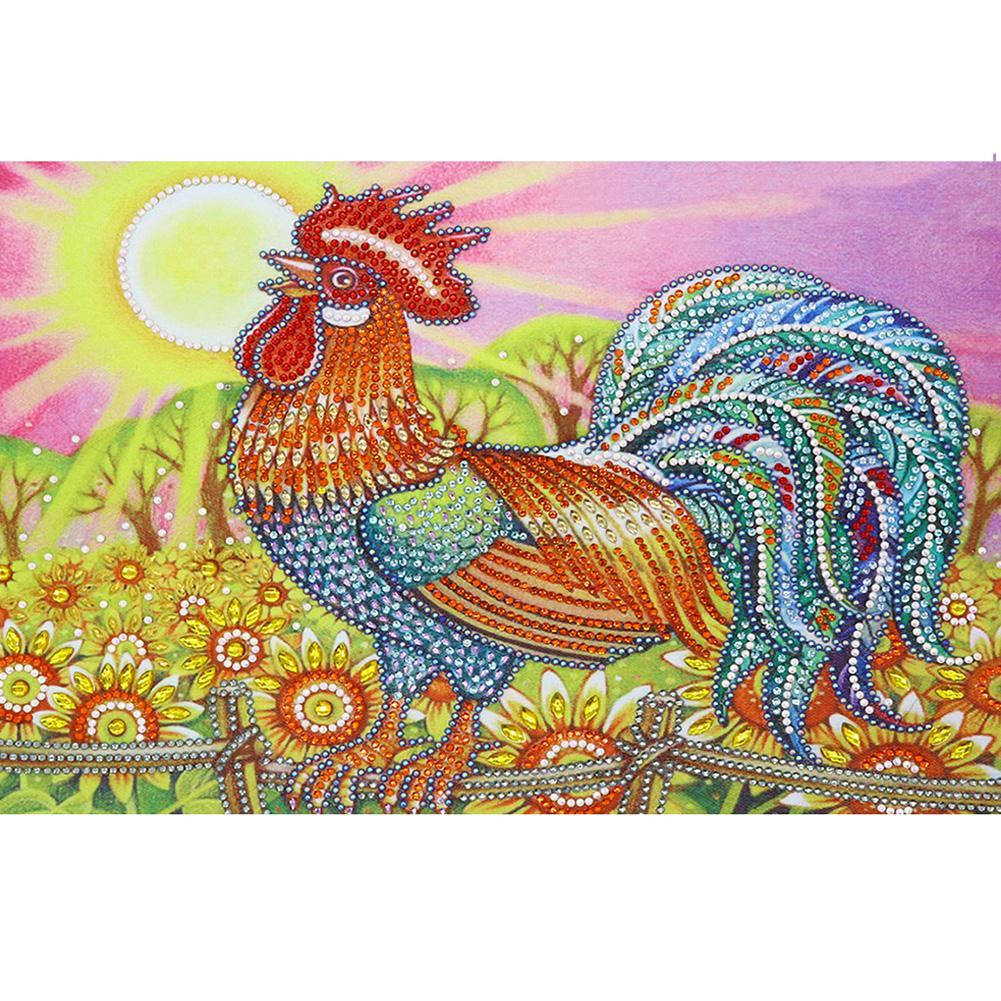 Chicken  - Special Shaped Diamond - 30x40cm
