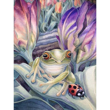 Load image into Gallery viewer, Frog Full Drill 5D DIY Diamond Painting