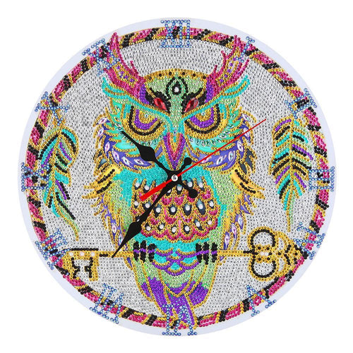 Owl Clock Kids Room