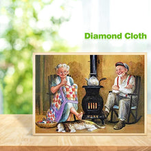 Load image into Gallery viewer, Older Couples  - Full Round Diamond - 30x40cm