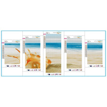 Load image into Gallery viewer, 5pcs Beach - Full Round Diamond - 95x45cm